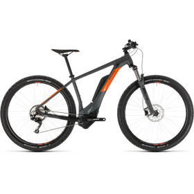 Cube Reaction Hybrid Pro 500 E-MTB Hardtail grey
